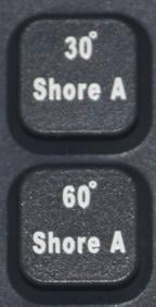 Examples of shoring options on custom manufactured silicone keypads by Silicone Dynamics.