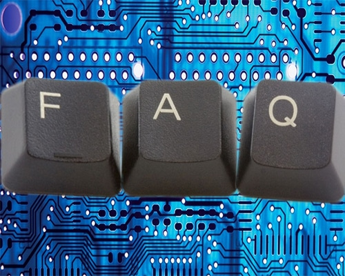 Frequently asked questions about Silicone Dynamics and our custom manufactured silicone rubber keypads.