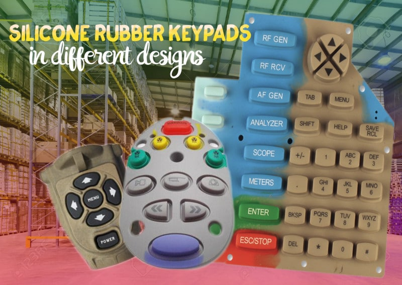 Silicone Dynamics manufactuers a variety of silicone rubber keypads and buttons of various designs.