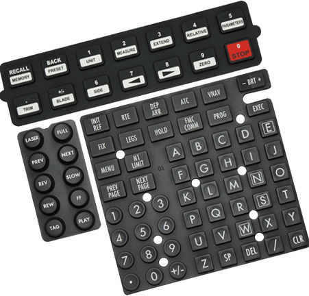 Custom Silicone Rubber Keypad Manufacturer